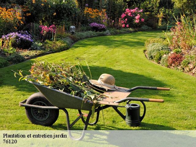 Travaux paysagers, plantation et entretien jardin à Le Grand ...