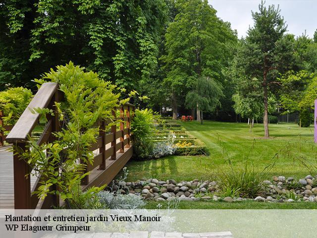 Travaux paysagers, plantation et entretien jardin à Vieux Manoir tel ...